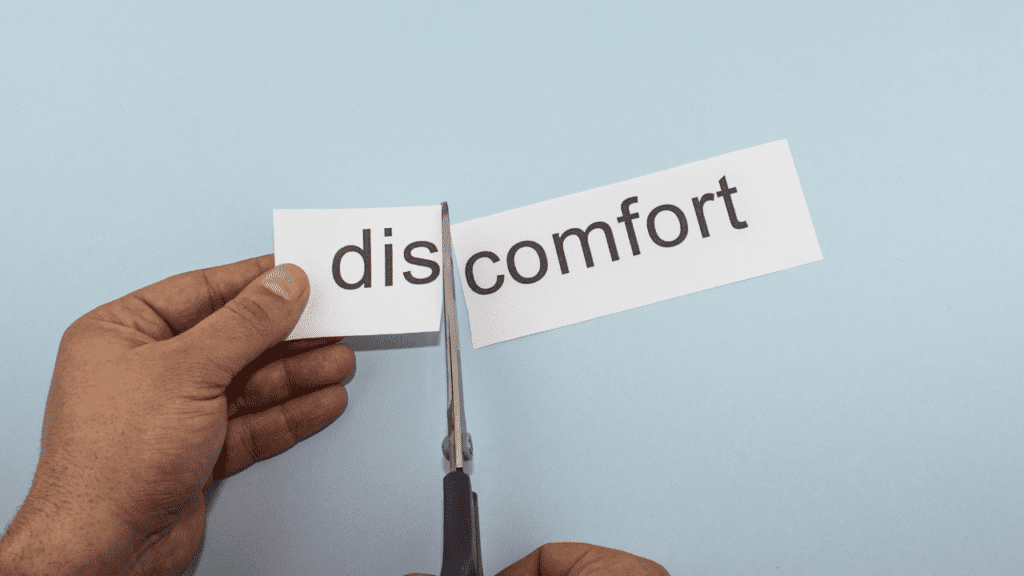 Confronting Discomfort Is A Key To Weight Loss Image