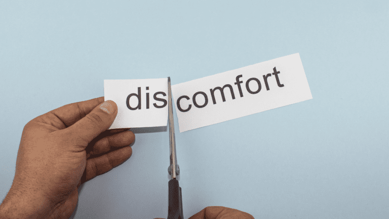 Confronting Discomfort Is A Key To Weight Loss